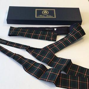 Brooks brothers (silk) tie & belt